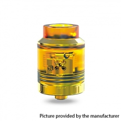 Authentic Oumier VLS 25mm RDA Rebuildable Dripping Atomizer w/ BF Pin - Yellow