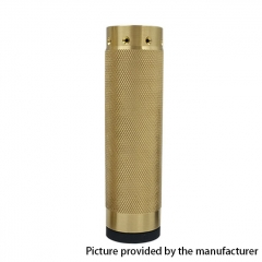HK25 Diamond Knurl Styled 18650/20700 Mechanical Mod - Brass