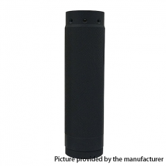 HK25 Diamond Knurl Styled 18650/20700 Mechanical Mod - Black