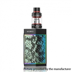 Authentic VOOPOO Too 80W/180W TC VW APV Box Mod w/UFORCE Tank 3.5ml - Black Turquoise