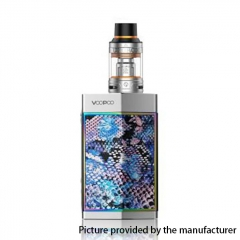 Authentic VOOPOO Too 80W/180W TC VW APV Box Mod w/UFORCE Tank 3.5ml - Silver Raisin