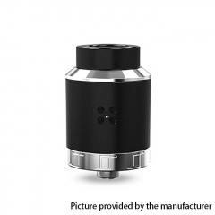 Authentic Oumier VLS 25mm RDA Rebuildable Dripping Atomizer w/ BF Pin - Black