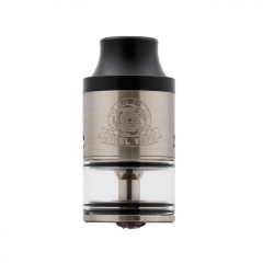 Authentic Steelvape Tailspin 25mm RDTA Rebuildable Dripping Tank Atomizer 4ml - Silver