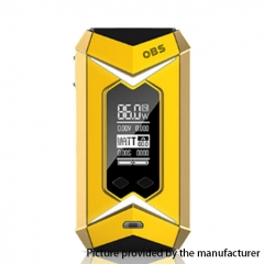 Authentic OBS Bat 218W TC Temperature Control VW APV Box Mod - Yellow