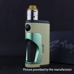 Authentic DOVPO Armour 18650 Mechanical Mod Squonk Kit - Green