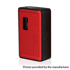Authentic Innokin LiftBox Bastion Siphon Squonk Mechanical Box Mod w/8ml Bottle - Red