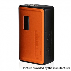 Authentic Innokin LiftBox Bastion Siphon Squonk Mechanical Box Mod w/8ml Bottle - Orange