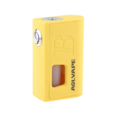 Bravo 18650/20700/21700 Mechanical Squonk Mod BF Mod w/7ml Bottle - Yellow