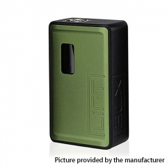 Authentic Innokin LiftBox Bastion Siphon Squonk Mechanical Box Mod w/8ml Bottle - Green