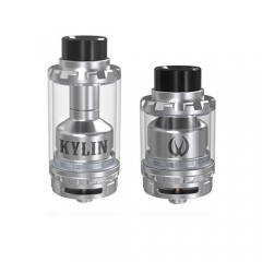 KYLIN Style 24mm RTA Rebuildable Tank Atomizer - Silver