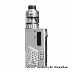Authentic Teslacigs Colt Mini 80W 2000mAh TC VW Box Mod + H8 Mini Tank Kit 2ml - Silver