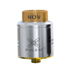Pulesi BF NOV 25mm RDA Rebuildable Dripping Atomizer - Silver