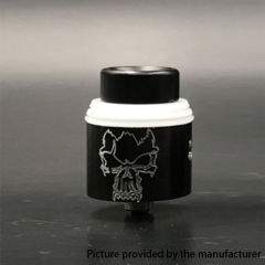 Redemption Style 24mm RDA Rebuildable Dripping Atomizer - Black