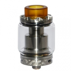 Reload Style 24mm RTA Rebuildable Tank Atomizer - Silver