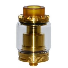 Reload Style 24mm RTA Rebuildable Tank Atomizer - Gold