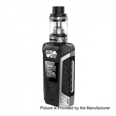 Authentic Vaporesso Switcher 220W 26.5mm TC VW Variable Wattage Mod + NRG Tank Kit 5ml- Silver