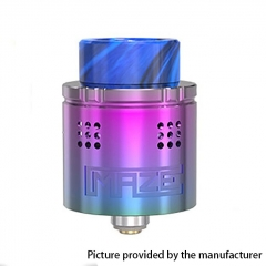 Authentic Vandy Vape Maze 24mm Sub Ohm BF RDA Rebuildable Dripping Atomzier 2ml- Rainbow