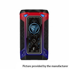 Authentic Vaporesso Switcher 220W TC VW Variable Wattage Box Mod - Red + Blue