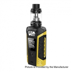 Authentic Vaporesso Switcher 220W 26.5mm TC VW Variable Wattage Mod + NRG Tank Kit 5ml- Yellow