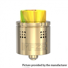 Authentic Vandy Vape Maze 24mm Sub Ohm BF RDA Rebuildable Dripping Atomzier 2ml- Gold