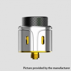 Authenrtic Vpdam GoKon 24mm RDA Rebuildable Dripping Atomizer w/ BF Pin - Silver