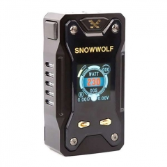 Authentic Sigelei Snowwolf Xfeng 230W TC VW Variable Wattage Box Mod - Black