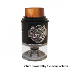 Apocalypse Mechlyfe Style 24mm RDTA Rebuildable Dripping Tank Atomizer 3.5ml - Black