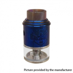 Apocalypse Mechlyfe Style 24mm RDTA Rebuildable Dripping Tank Atomizer 3.5ml - Blue