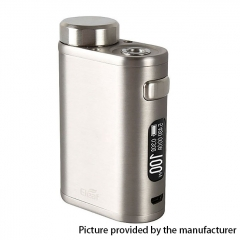 Authentic Eleaf iStick Pico 100W 18650/21700 TC VW Variable Wattage Box Mod - Brushed Silver