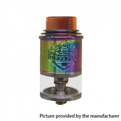 Apocalypse Mechlyfe Style 24mm RDTA Rebuildable Dripping Tank Atomizer 3.5ml - Rainbow