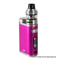 Authentic Eleaf iStick Pico 100W 18650/21700 TC VW Variable Wattage Box Mod + Ello Tank 25mm 2ml Kit - Purple