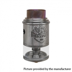 Apocalypse Mechlyfe Style 24mm RDTA Rebuildable Dripping Tank Atomizer 3.5ml - Silver