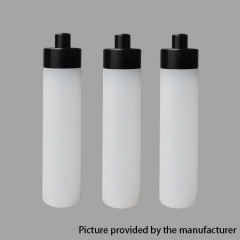 YFTK 510 Central Dripping Dropper Bottle for BF Bottom Feeder Squonk Mod 15ml (3pcs) - White Black