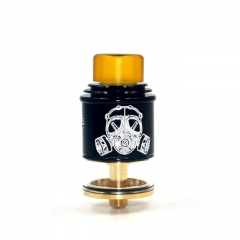Apocalypse GEN 2 Style 24mm RDTA Rebuildable Dripping Tank Atomizer 2.6ml - Black