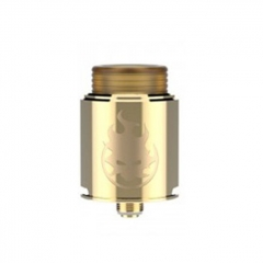 Authentic Vandy Vape Phobia 24mm RDA Rebuildable Dripping Atomizer w/ BF Pin - Gold