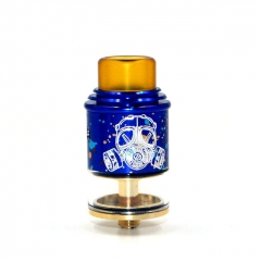 Apocalypse GEN 2 Style 24mm RDTA Rebuildable Dripping Tank Atomizer 2.6ml - Spotted Blue