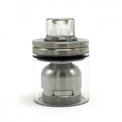 Coppervape Skyline Drop Kit 316SS for Skyline Atomizer - Silver Transparent
