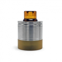 Coppervape Skyline Drop Kit 316SS w/Pei Tank for Skyline Atomizer - Silver Yellow