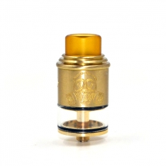 Apocalypse GEN 2 Style 24mm RDTA Rebuildable Dripping Tank Atomizer 2.6ml - Gold
