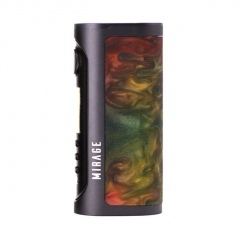 Authentic Lost Vape Mirage DNA75C TC VW APV Box Mod - Resin Red Blaze