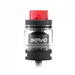 Authentic Wotofo Bravo 25mm RTA Rebuildable Tank Atomizer 6ml - Black
