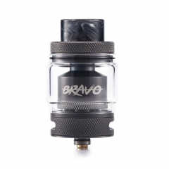Authentic Wotofo Bravo 25mm RTA Rebuildable Tank Atomizer 6ml - Gun Metal