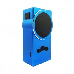 Authentic Hugo Vapor Delux 220W TC VW Variable Wattage Box Mod - Blue