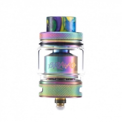 Authentic Wotofo Bravo 25mm RTA Rebuildable Tank Atomizer 6ml - Rainbow