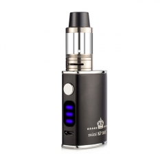 Authentic Kangvape Mini KP Box 60W 1500mAh VW Variable Wattage APV Mod w/2ml Atomizer Kit - Black