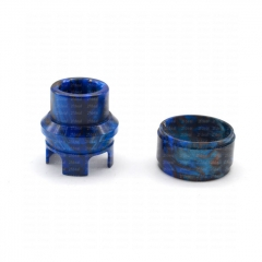 ULTON Replacement Resin 810 Top Cap Drip Tip and Resin Tank for Korina/ Corona(Limited Edition) - Blue