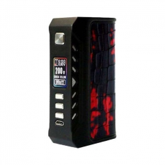 Authentic ThinkVape Thunder 200W TC Temperature Control VW Box Mod - Black