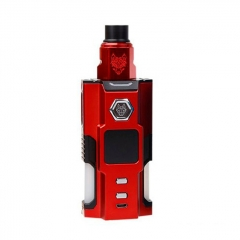 Authentic Sigelei Snowwolf Vfeng Squonk 120W 18650 / 20700 / 21700 TC VW Box Mod + BF RDA Kit - Red