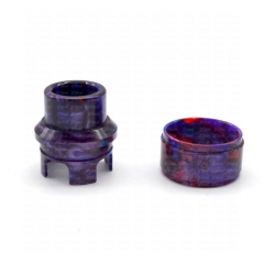 ULTON Replacement Resin 810 Top Cap Drip Tip and Resin Tank for Korina/ Corona(Limited Edition)- Purple