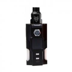 Authentic Sigelei Snowwolf Vfeng Squonk 120W 18650 / 20700 / 21700 TC VW Box Mod + BF RDA Kit - Black